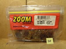 10 Count New Zoom Swimmin/' Chunk #043-001 Black Red Glitter