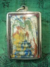 Phra Somdej Rainbow gold fleck Wat Phra Kaew Talisman Old Thai Buddha Amulet