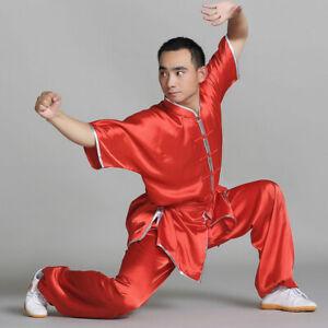Chinese Kung Fu Tai Chi Uniform Martial Arts Suit Wushu Changquan Outfit Clothes