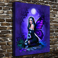 """Night Fairy Jesse HD Canvas Print 16""""x20"""" Home Decor Paintings Wall Art Pictures"""