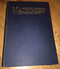 1929 Machinery Design Construction JOURNAL bound Apr-Sept illustrated Railroad