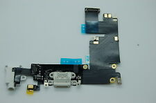 NEW Iphone 6 plus  USB Charging Charger Port Dock Connector Flex Cable white Mic
