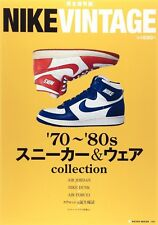 NIKE VINTAGE '70-'80 SNEAKER & WEAR COLLECTION Japanese book AIRMAX AIR JORDAN