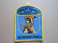 Charles Howell Scout Reservation BSA Woven Cloth Patch Badge Boy Scouts Scouting