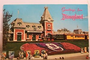 Disneyland Mickey Mouse Magic Kingdom Postcard Old Vintage Card View Standard PC