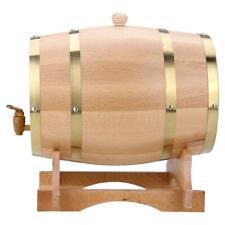 10L Vintage Wood Oak Timber Wine Barrel For Beer Whiskey Rum Port Keg Storage
