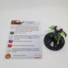 Heroclix Amazing Spider-Man set Mysterio #026 Uncommon figure w/card!
