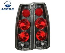 ANZO Black Tail Lights 3D Style For 88-98 Chevy/GMC C/K1500/2500 #211019