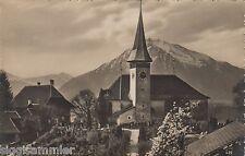 Sigriswil AK 1930 Kirche und Niesen Schweiz Suisse Svizzera 1603396