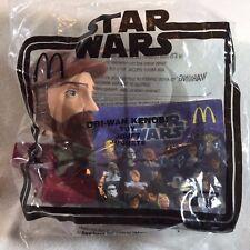 Star Wars Clone OBI WAN KENOBI #17 Bobble Head - McDonalds Meal Toys 2008 NEW