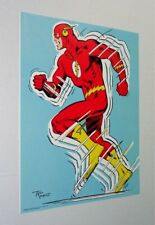 1979 Rare vintage original Dc Comics Universe The Flash pin-up poster:1970's/Jla