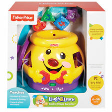 Fisher-Price Laugh Learn Cookie Jar Shape Surprise Music Baby Toys Play Numbers