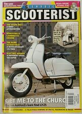 Classic Scooterist Vespa 90SS Barn Find Li125 April May 2016 FREE SHIPPING