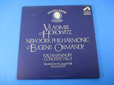 Rachmaninoff Concerto No 3 Vladimir Horowitz Album LP Vinyl Ormandy CRL1-2633