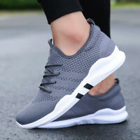 Mens Casual Running Breathable Shoes Sports Walking Athletic Sneakers breathabl