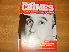 Raymond Fernandez, REAL CRIME 129, Martha Beck, Robert Wignall, Terry Bewley.