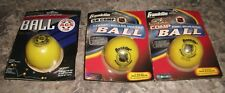 Franklin Sports NHL Street Roller Hockey Ball lot of 3 balls AGS SH SX COMP NEW