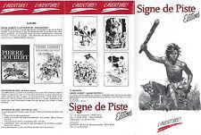 Encart catalogue Nouveau Signe de piste DT136 Joubert Forget Scout Alsatia EPI