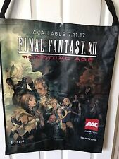 Final Fantasy Online XIV XII AX17 Anime Expo 2017 Promo Exclusive Bag JUMBO