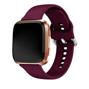 For Fitbit Versa1/2/Versa Lite Food Grade Silicone Wristband Watch Band Strap US