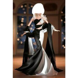 NOIR et BLANC Evening Gown Barbie 1:6 Dress Costume ✨NEW*DeBOXED✨ Doll FASHION👗