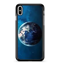 Planet Earth Deep Blue Starry Sky Universe Starburst Space 2D Phone Case Cover