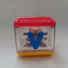 "Fisher Price Peek A Boo Block Alphabet Letter ""V"" for Violin Replacement Toy"