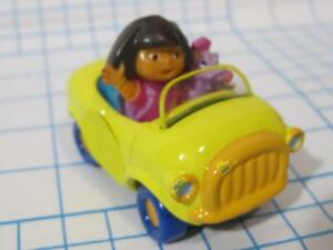 DORA the Explorer Take Along and N Play Diecast METAL MAGNETIC princess chariot