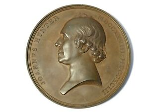 1884 Glasgow University John Hunter to Jacob Macdonald Bronze Medal 70mm #T74A