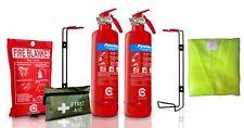 Gas Safe Engineer FIRE Safety Full Pack  Extinguisher 1ST AID KIT BLANKET HI VIS