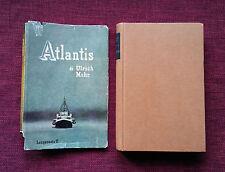 ATLANTIS Ulrich Mohr - Longanesi 1957