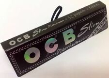 1 NEW OCB PAPERS & FILTERS CONNOISSEUR KING SIZE PREMIUM SLIM ROLLING PAPERS