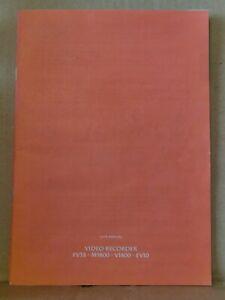 Ferguson FV3B VHS Video Recorder User Manual