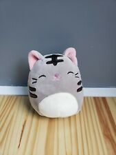 """Kellytoy Squishmallow 5"""" Tally The Cat Plush Doll Collection Stuffed Animal Toy"""