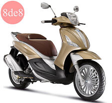 Piaggio Beverly 125 ie (2008) - Workshop Manual on CD