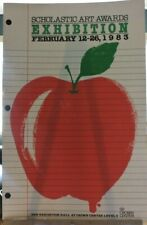 Crown Center Ad Poster: Scholastic Art Exhibition 1983