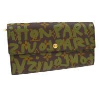LOUIS VUITTON PORTE MONNAIE CREDIT WALLET MONOGRAM GRAFFITI M92188 NR15393