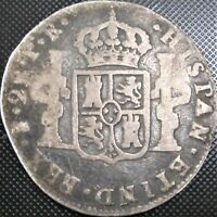 **Spanish Colony-BOLIVIA** 1780 2 Reales PR KM# 53 - Silver Coin