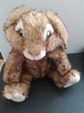 "Build A Bear Hop Bunny Rabbit Plush Stuffed Animal Universal Studios 12"" Brown"
