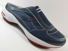 MISMATCHED Women's KEDS SAVVY Blue Leather Mules shoes LEFT SZ 6 RIGHT SZ 6.5