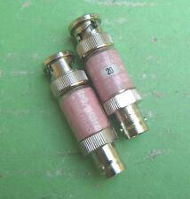 1pc Used Trilithic Fp-75 20dB Dc-1Ghz Bnc Rf coaxial attenuator