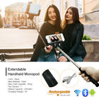 Bluetooth Extendable Handheld Universal Selfie Stick Monopod for Cell Phone NEW