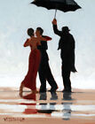 FRAMED CANVAS Art print giclee Jack Vettriano THE SINGING BUTLER