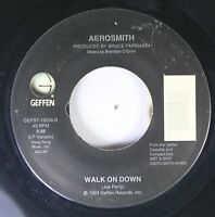 Rock 45 Aerosmith - Walk On Down / Cryin' On Geffen