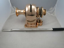 "Bronze Anchor Windlass,  5/16"" HT Chain  -  0012B ""As-Is"" Must see for details"