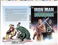 IRON MAN DR. DOOM JULIE BELL ROMITA LAYTON ORIGINAL PRODUCTION ART COVER PROOF