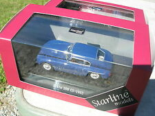 Siata 208 CS 1952 bleue 1/43 Starline