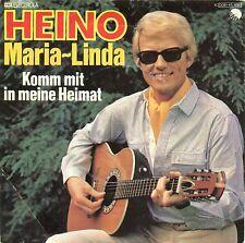 """HEINO - MARIA LINDA / KOMM AVEC EN MA MAISON 7"""" SINGLE (E9)"""