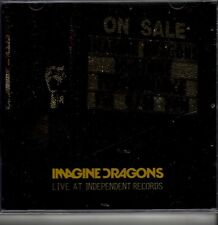 """IMAGINE DRAGONS """"Live at Independent Records"""" 4 Track CD RSD Rare"""