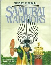 HISTOIRE - JAPON / STEPHEN TURNBULL - SAMURAI WARRIORS + WARLORDS - EN ANGLAIS